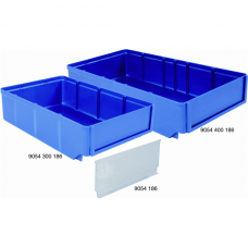 Storage Boxes Blue 186 mm