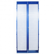 Screen door pair retrofit kit
