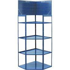 VARO Corner Rack with Perforated Panel