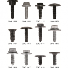 Metric-Thread Screws