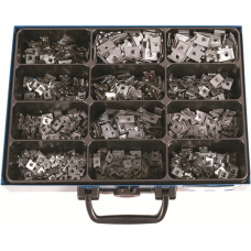 Sheet-Metal Nuts, Galvanized Steel in Assortment